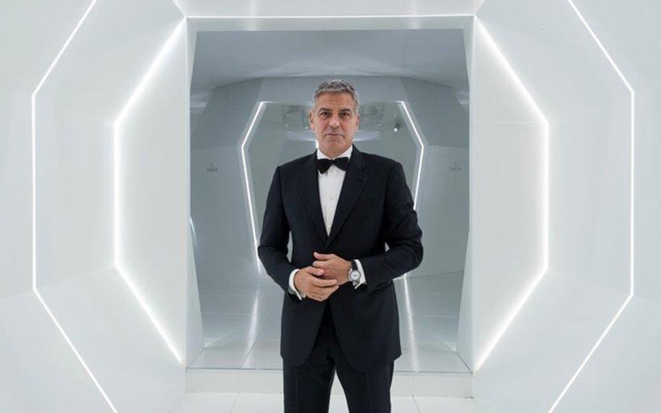 George Clooney OMEGA ambassador