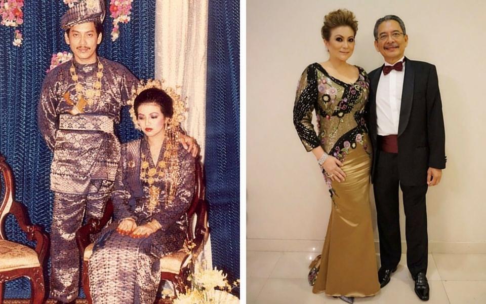 Datuk Wan Fusil Wan Mahmood and Datin Jude Khadijah