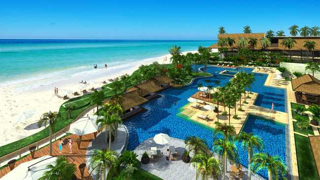 Artist S Rendering Of The Hennan Resort Alona Beach