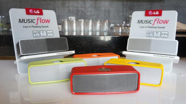 LG Unveils Its First Portable Speaker | Philippine Tatler