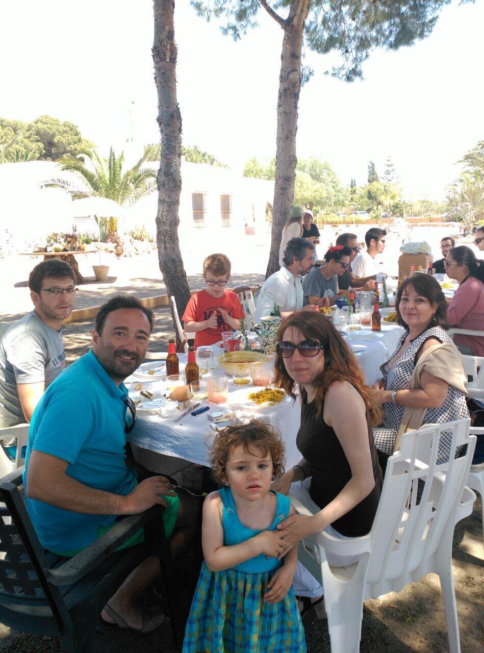 Move Feast guests Almeria Spain