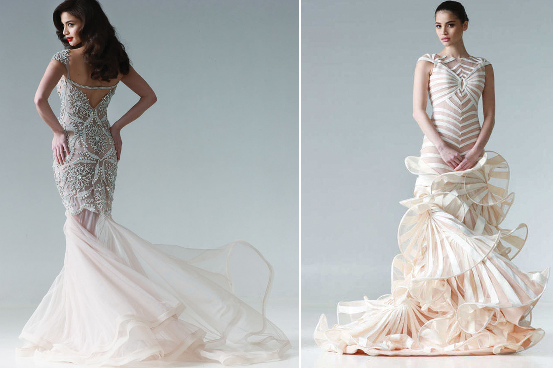 Francis libiran cocktail dresses