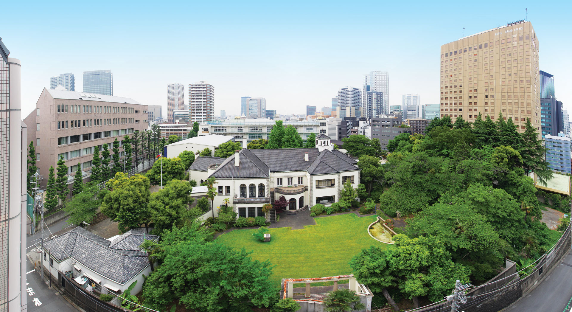 ... Of Tokyo Because The House Was On The Takadai (high Place In The City).  And She Told Her Small Private Audience, U201cFrom Here, On A Clear Day, ...