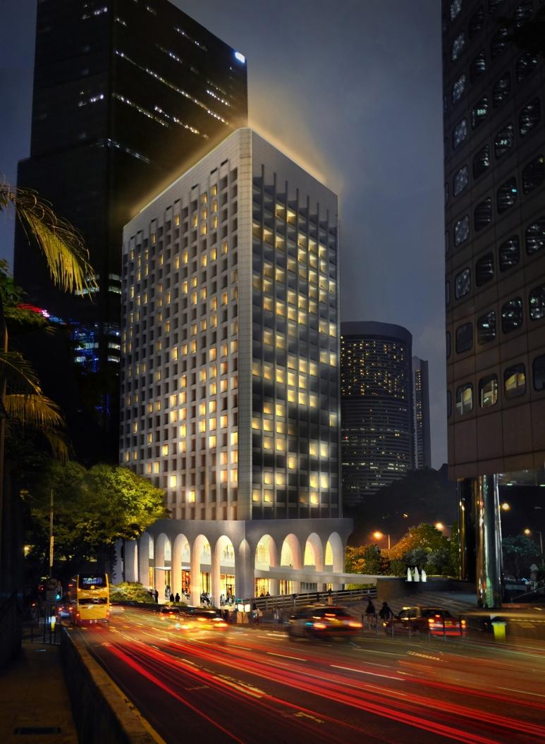 The Murray, Hong Kong, a Niccolo Hotel - Exterior Night View.jpg