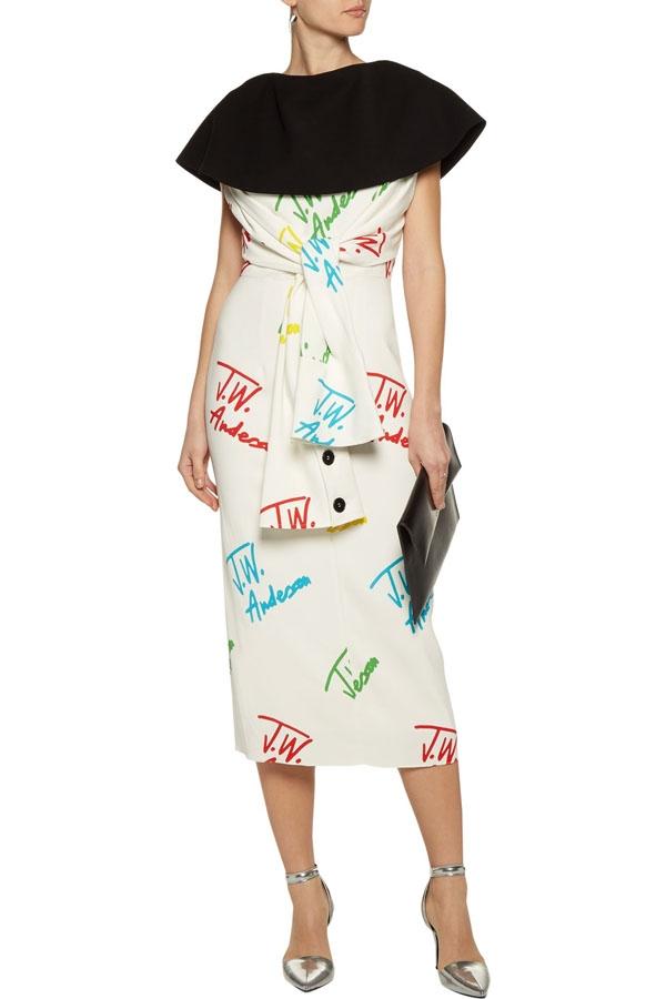 J.W.ANDERSON Draped printed crepe midi dress2.jpg