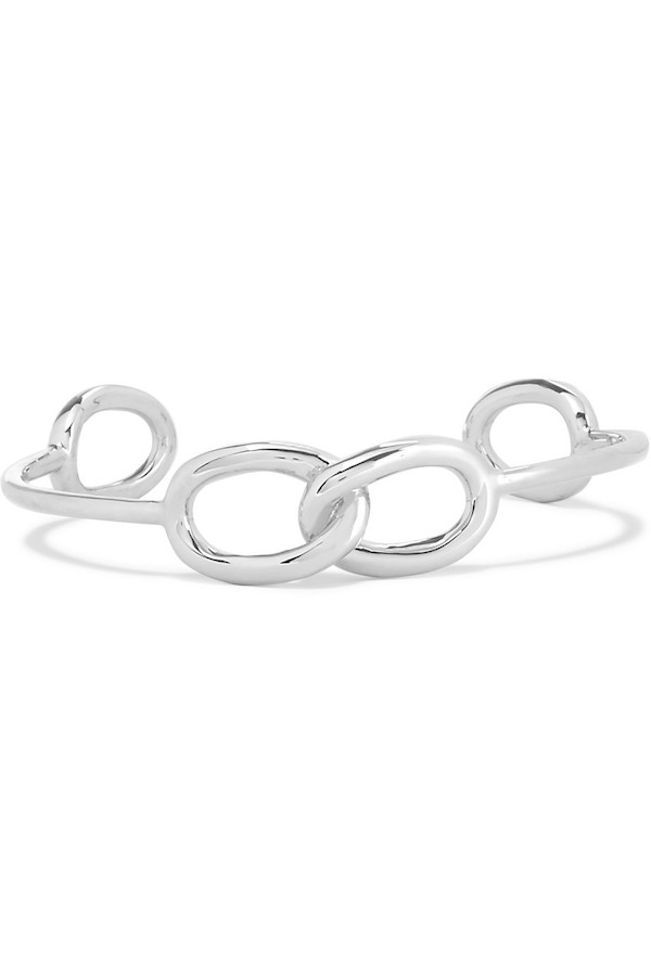 JENNIFER FISHER Double Link Chain silver-plated choker.jpg