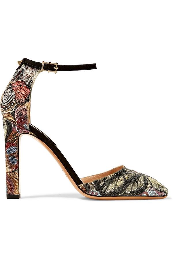 VALENTINO Crystal-embellished suede pumps.jpg