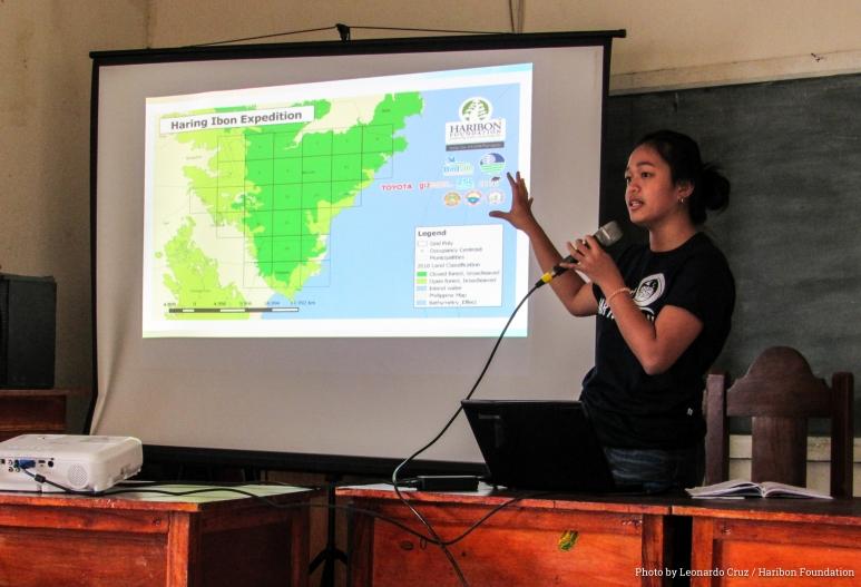 Sam Manalastas brought Haring Ibon data to communities surrounding Mt. Mingan as the 1st Critical Habitat for Philippine Eagles in Central Sierra Madre nears completion - Photo by Leonardo Cruz - Haribon Foundation.jpg