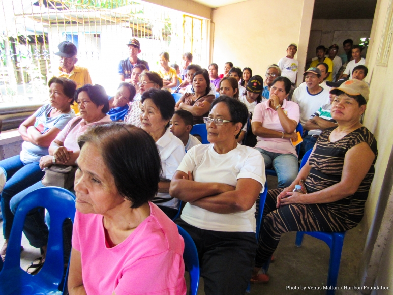 Communities in 10 barangays surrounding the Haring Ibon domain have pledged support by setting aside resources from the Internal Revenue Allotment (IRA) - Photo by Venus Mallari - Haribon Foundation.jpg