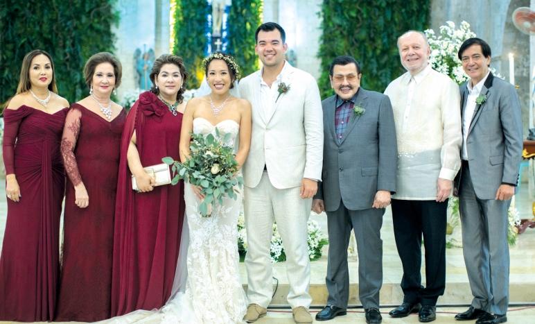 Principal Wedding Sponsor Gowns: Philippine Tatler