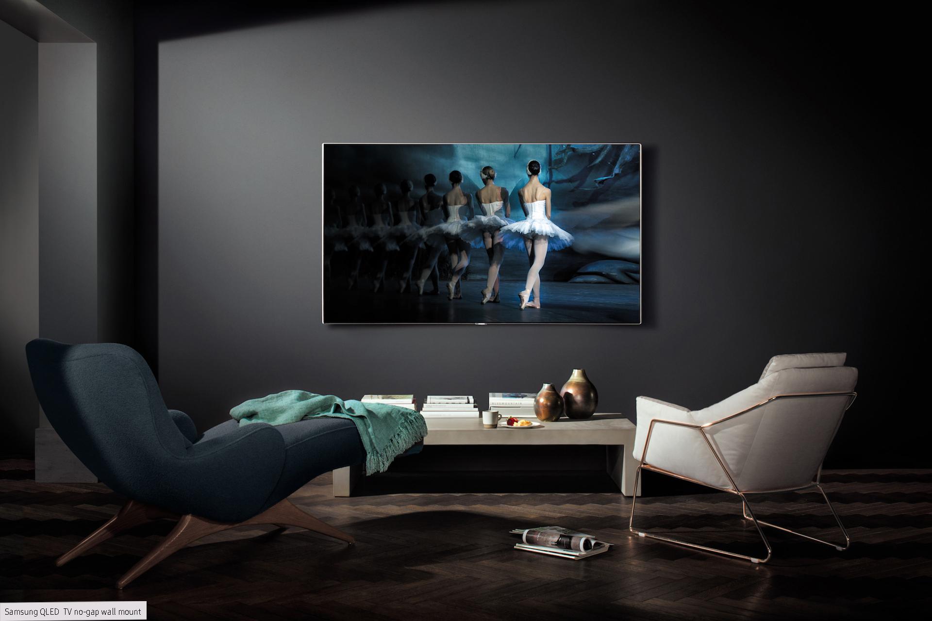 Samsung qled redefining smart tv philippine tatler for Premium play smart tv