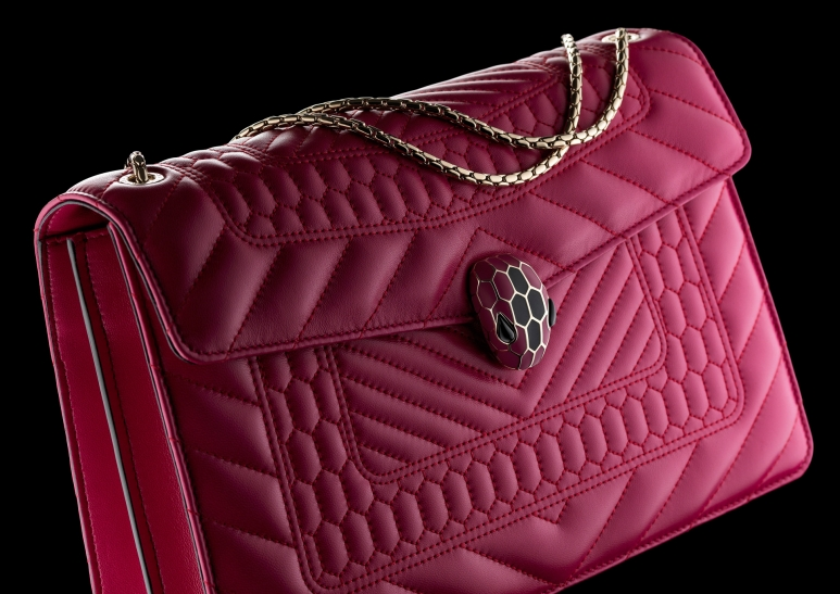 8 2 Bvlgari Serpenti Forever Flap Cover Bag Featuring