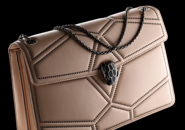 6 2 Bvlgari Serpenti Forever Flap Cover Bag Featuring