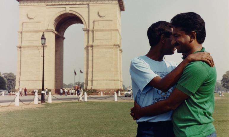 resized_India Gate from the series 'Exiles', 1987, Sunil Gupta ½ Sunil Gupta SepiaEye, New York.jpg