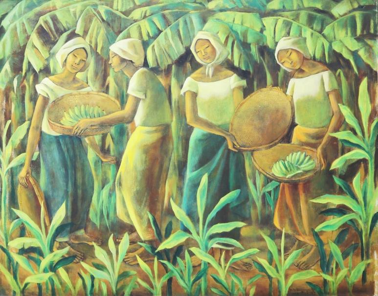 Anita Magsaysay-Ho - Women Amidst Bananas.jpg