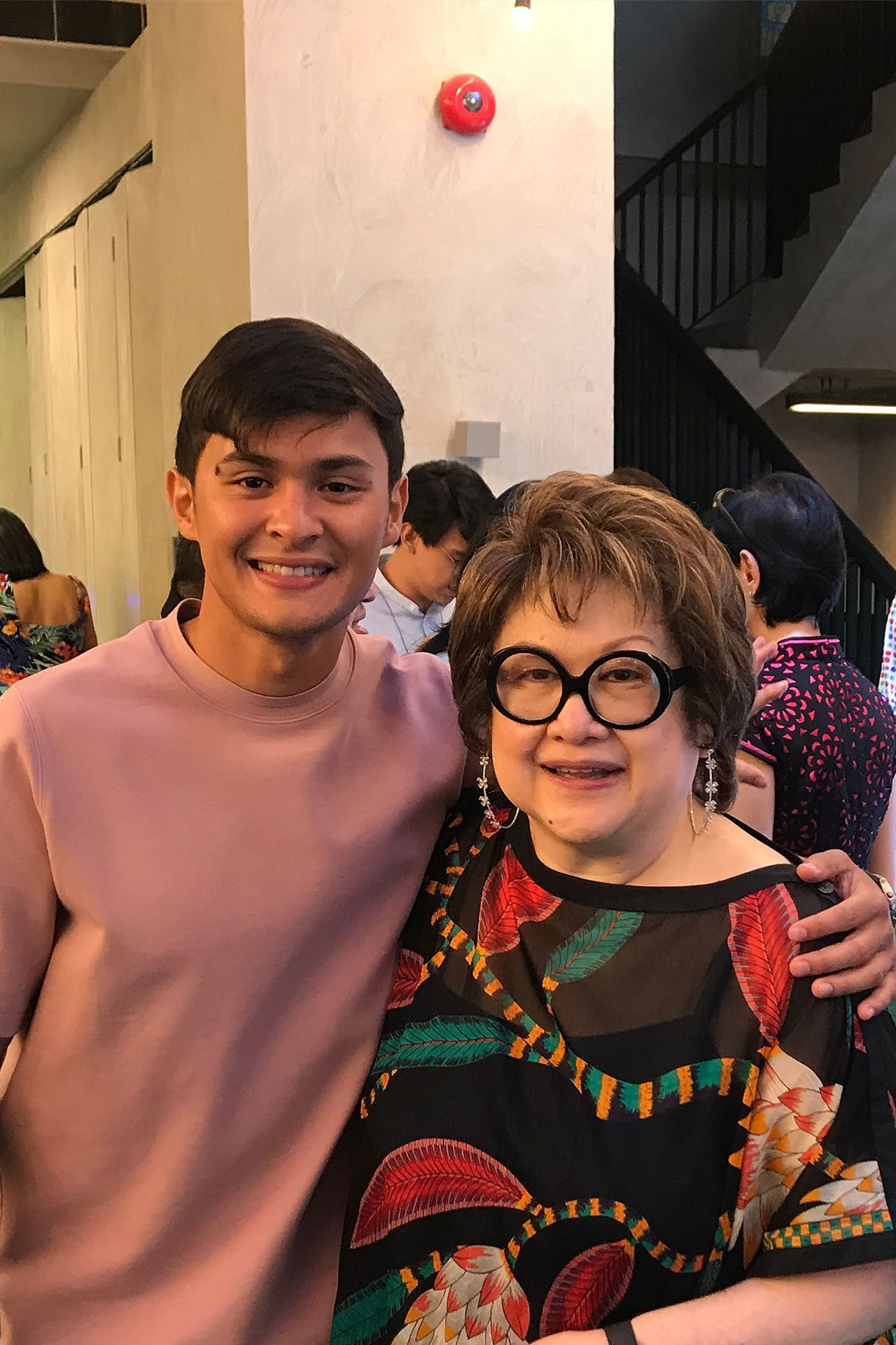 Matteo Guidicelli and Virgie Ramos