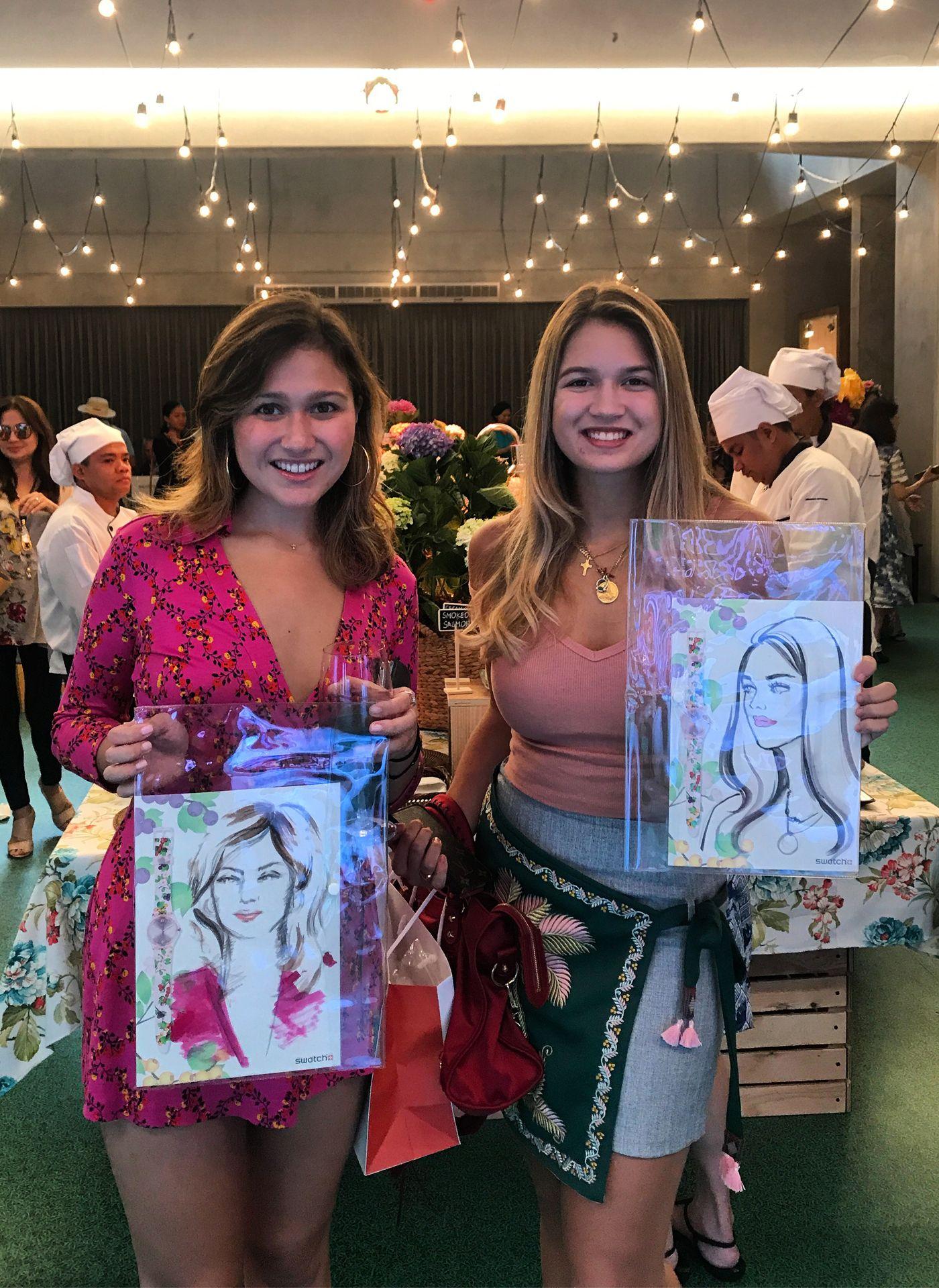 Sophie Saguil and Natalia Pena