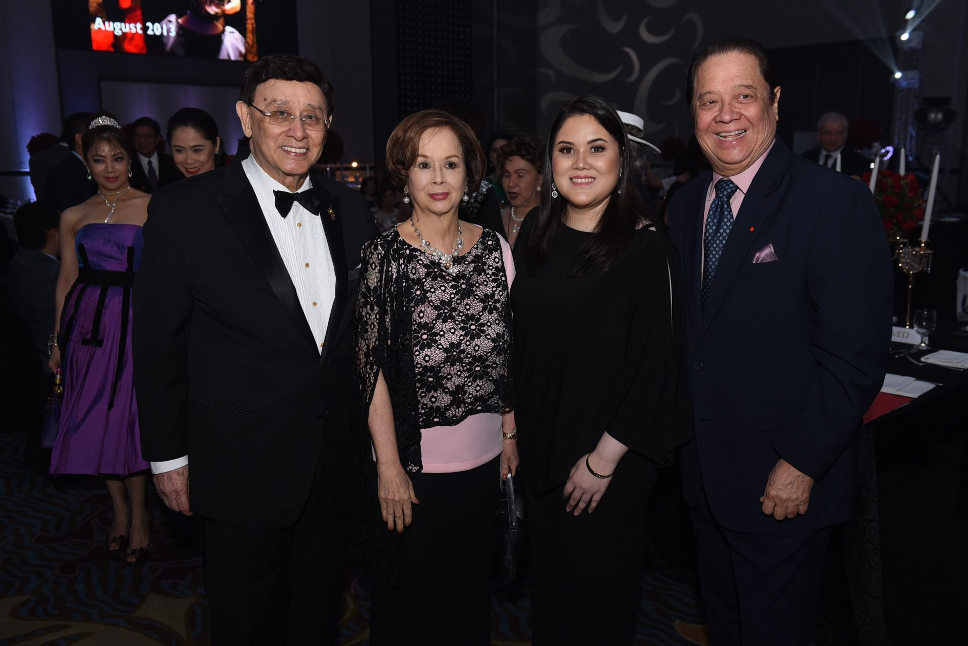 Johnny Litton, Conchitina Bernardo, Tara Litton, and Ambassador Lani Bernardo