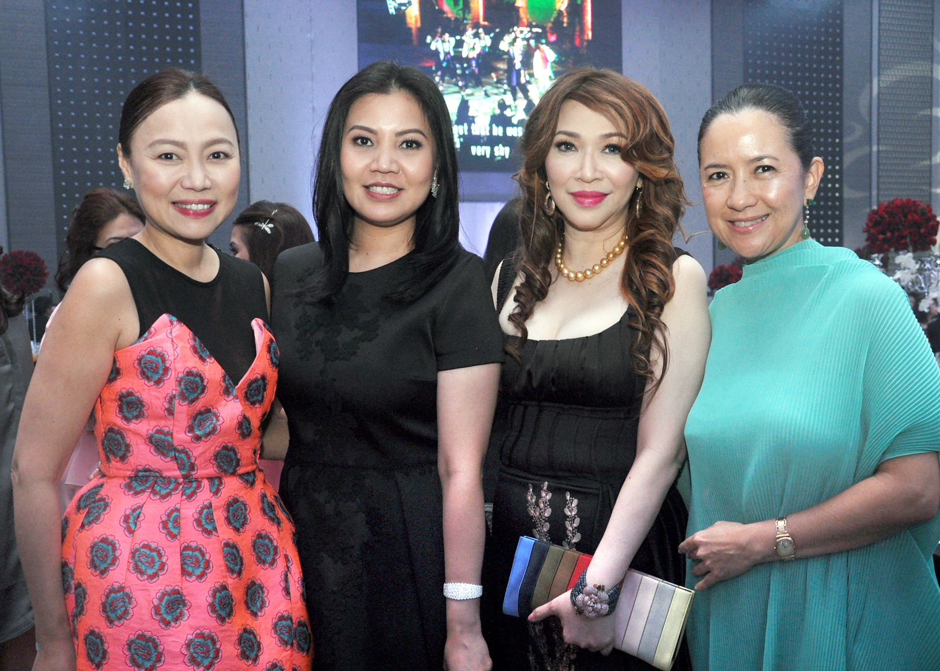 Beng Dee, Willin Chan, Ruby Chua, and Mia Borromeo