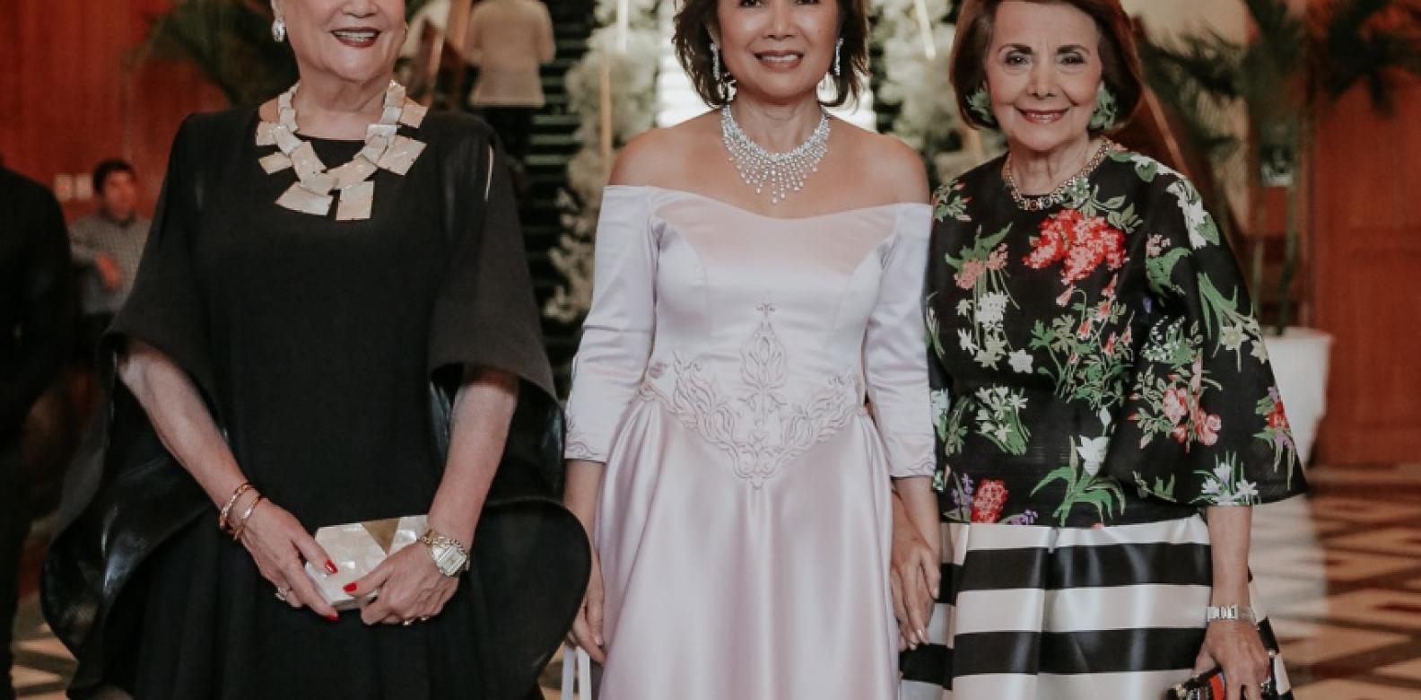 Mila Wales, Mariquita Yeung and Teresin Mendezona