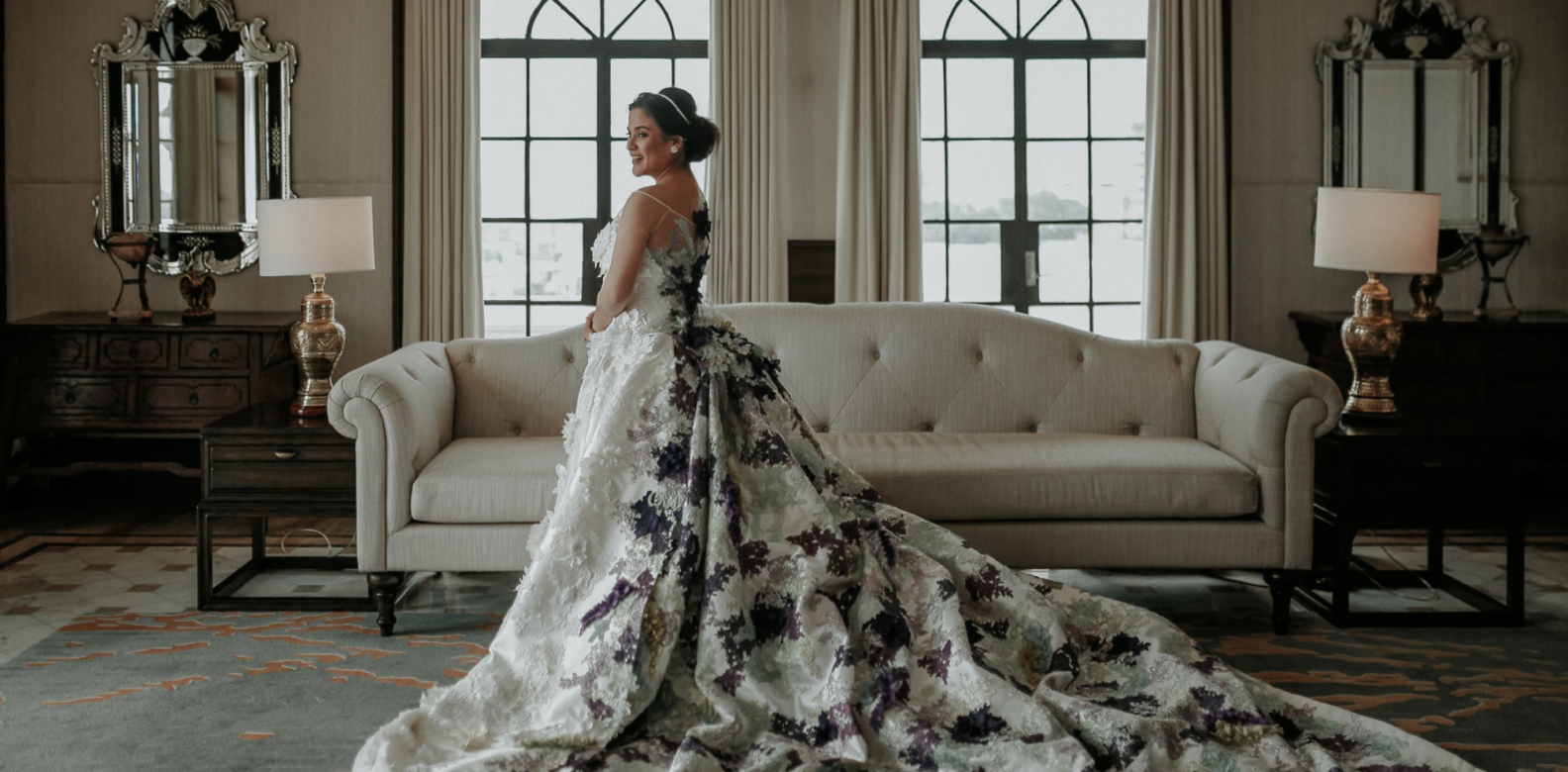 The gorgeous gown designed by Ino Sotto