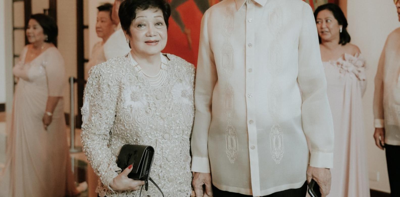 Mrs. and Ambassador Antonio Villamayor