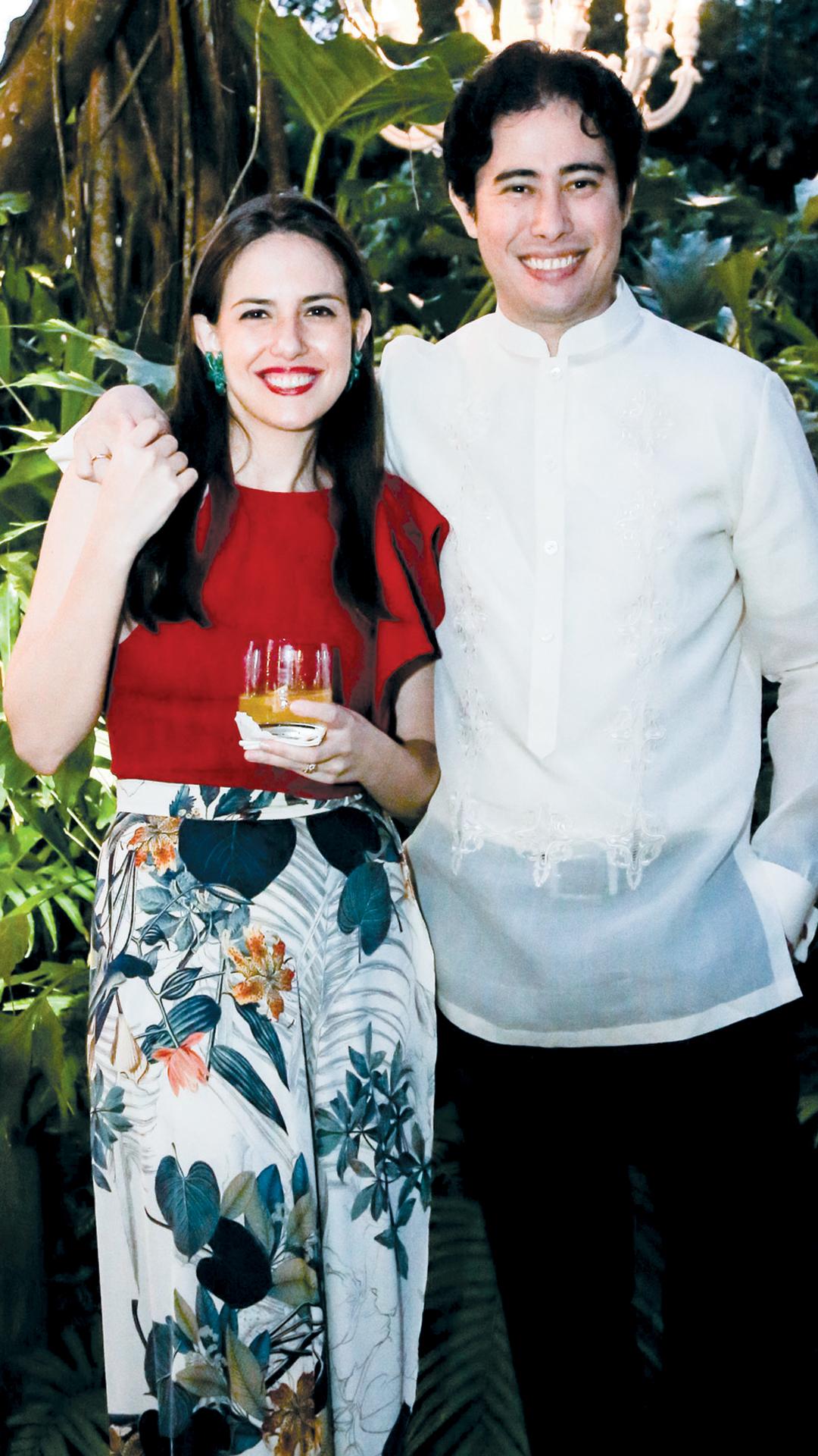 Pia and Pocholo Moreno Garcia