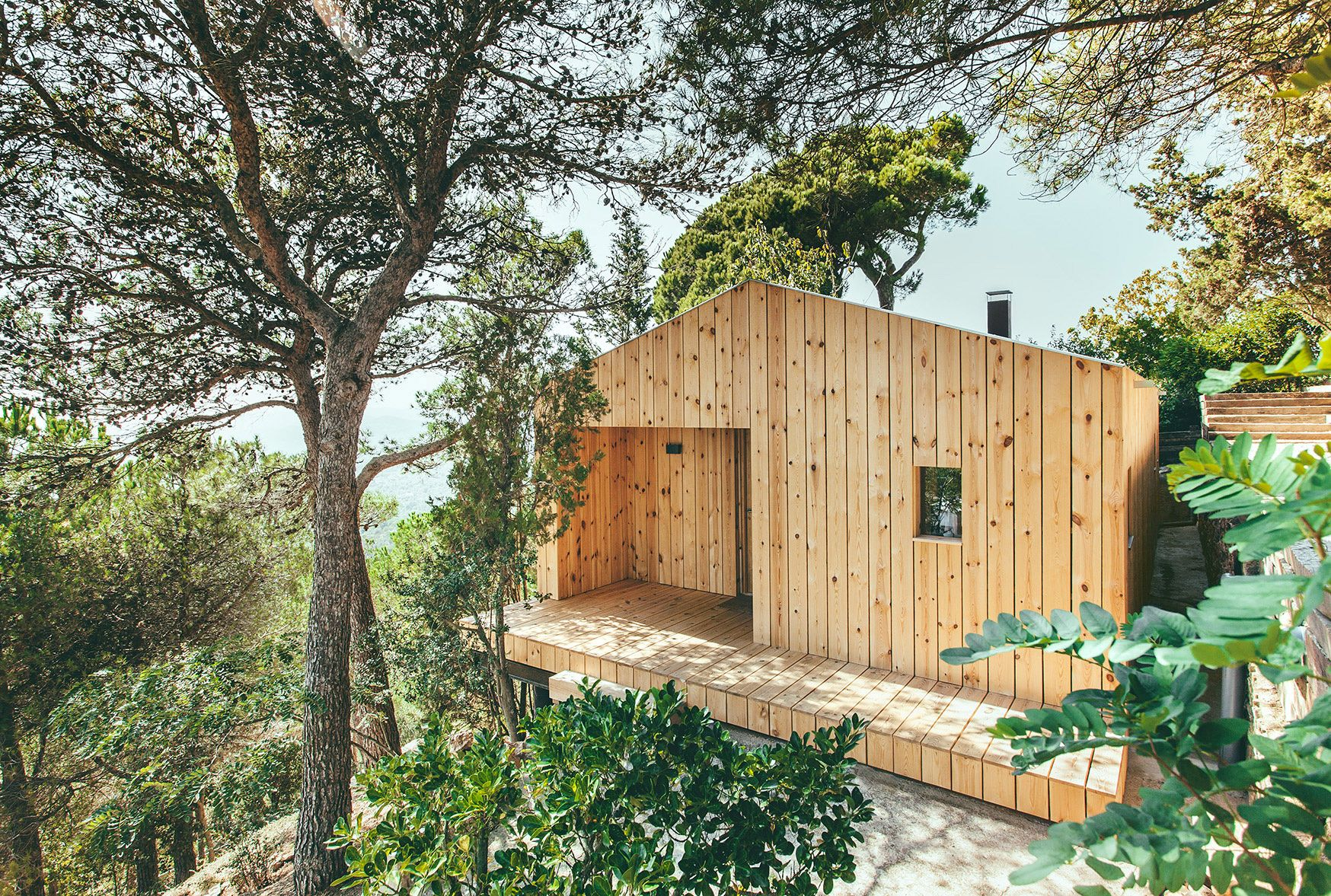 Home Tour: A Prefabricated Loft Among The Trees