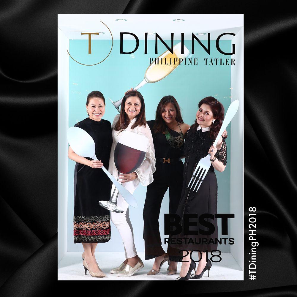 Aya Daly, Gina Mohnani, Allana Montelibano and Carla del Prado