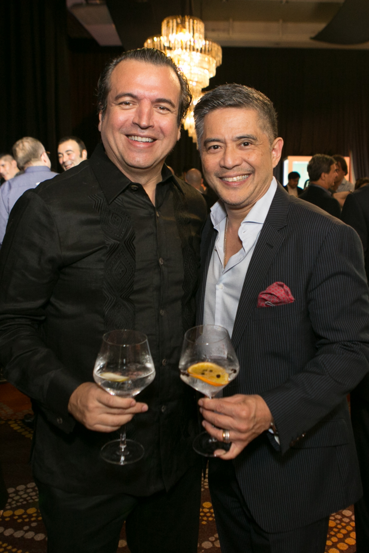 Alfredo Roca and Dr. Randy Francisco
