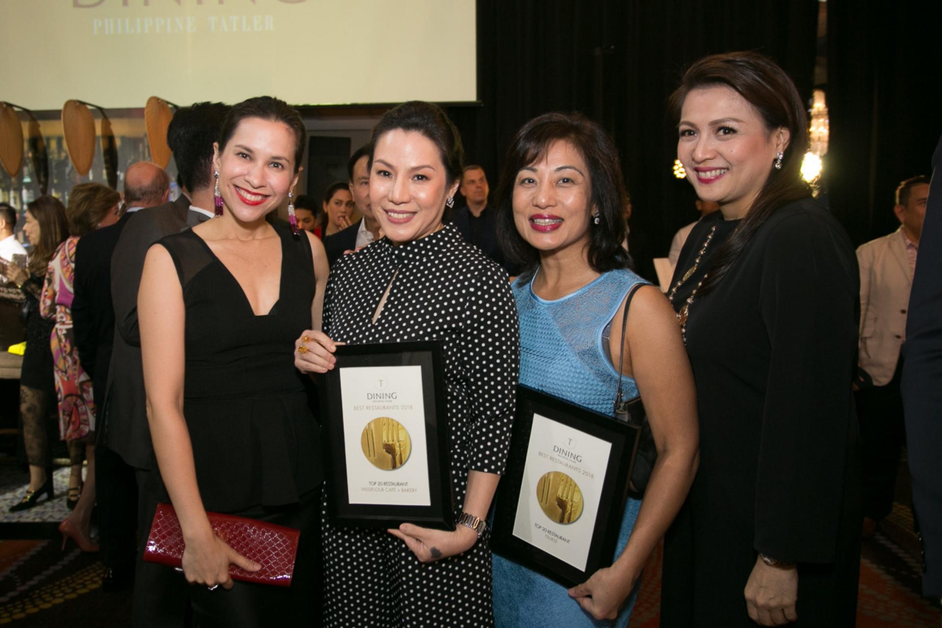 Audrey Tan Zubiri, Ana de Ocampo, Malu Gamboa, Michelle Tiangco