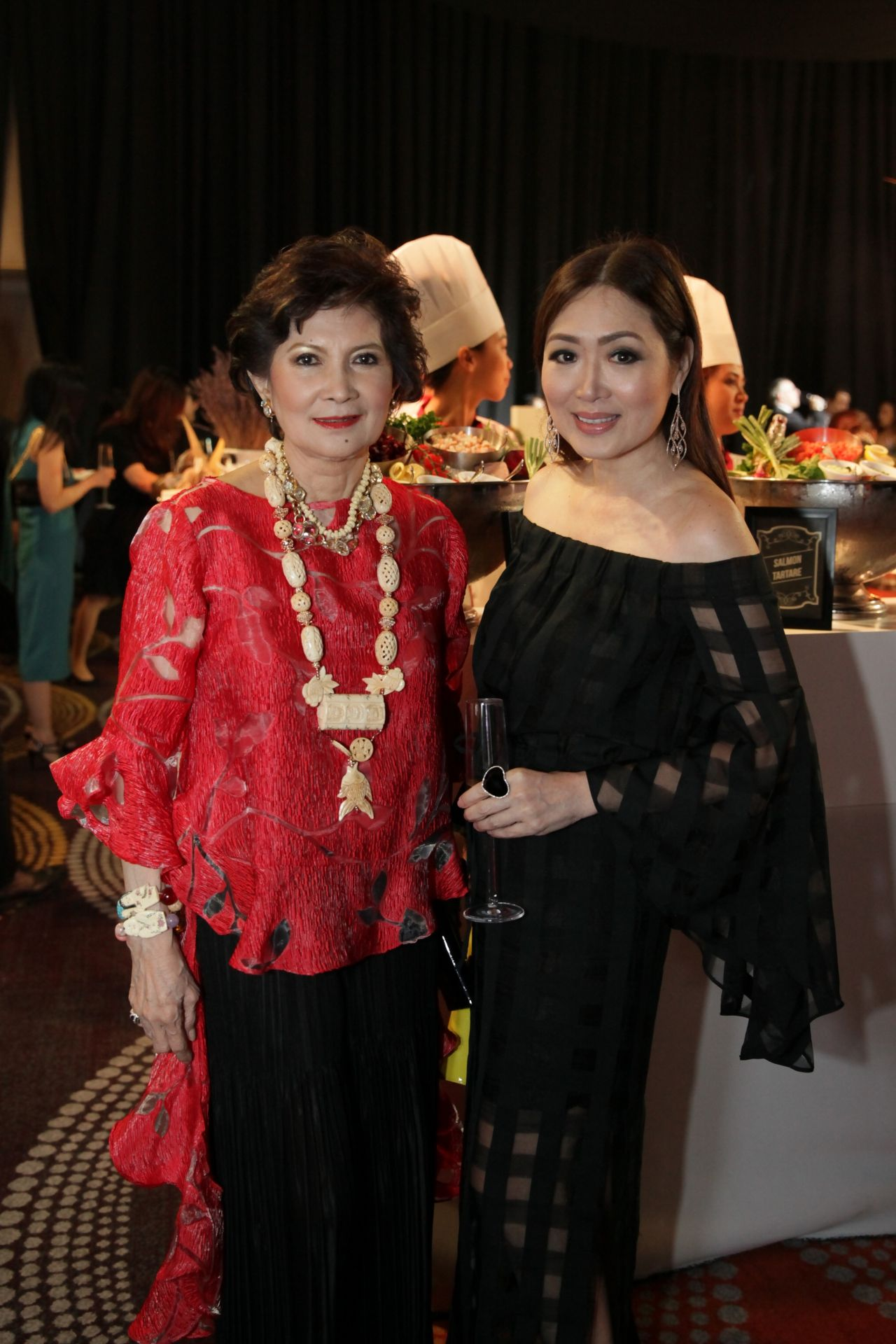 Criselda Lontok and Linda Ley