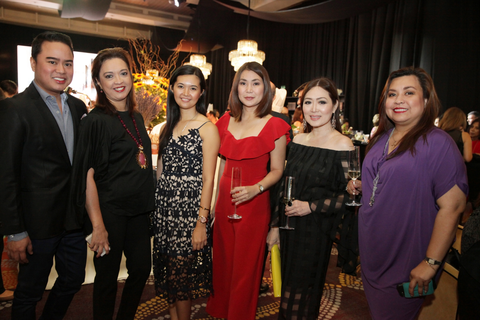 Francis de Leon, Carmela Bocanegra, Mia Sy, Ronie Reyes, Linda Ley and Liza Morales