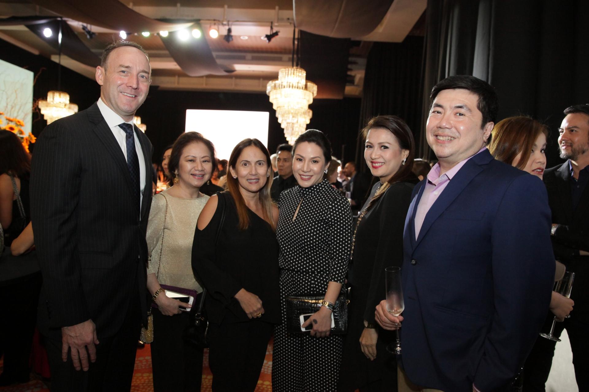 Geof Andres, Charisse Chuidian, Marisol Ramirez, Ana de Ocampo, Michelle Tiangco and Jayjay de Ocampo