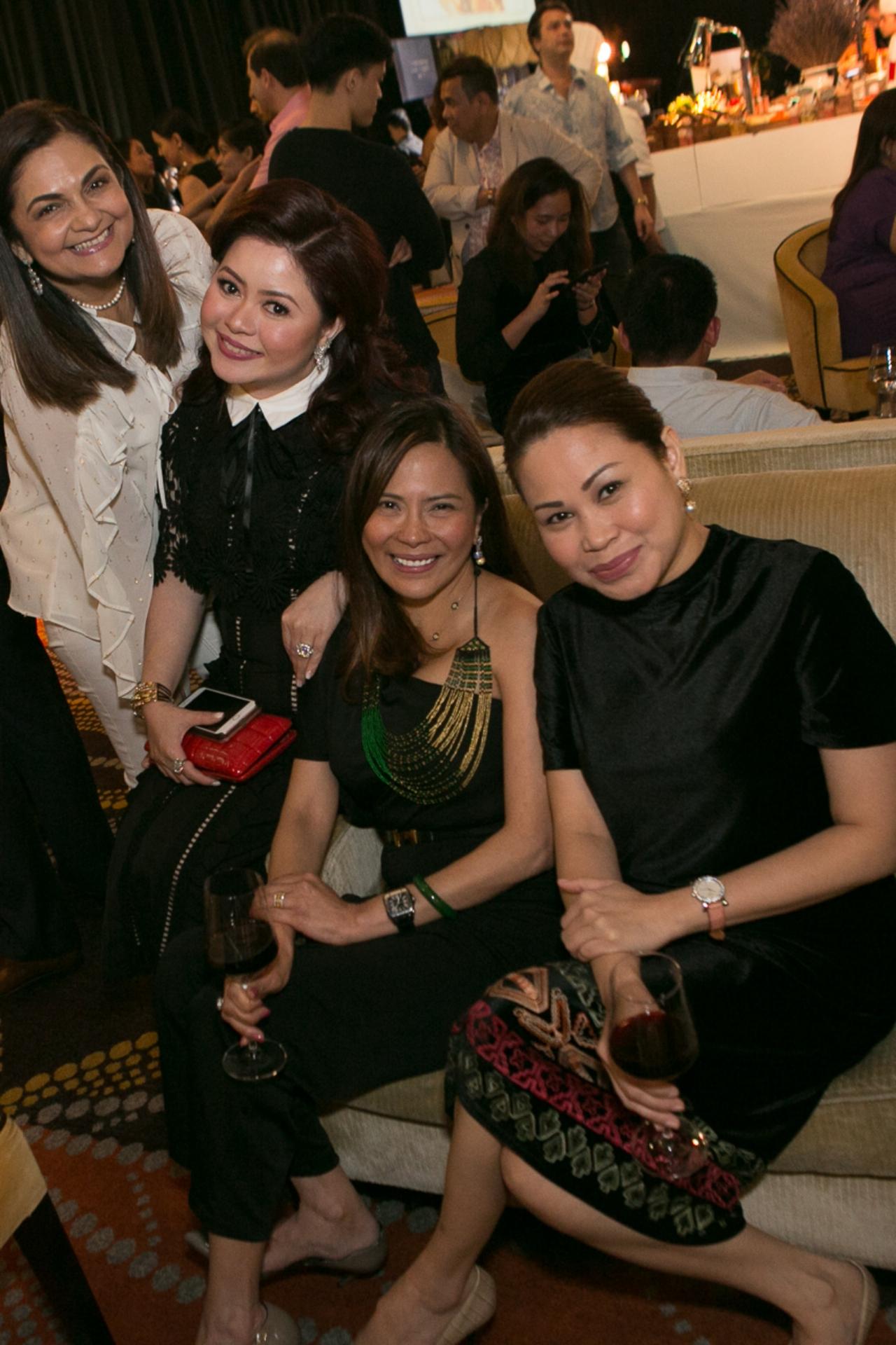 Gina Mohnani, Carla del Prado, Allana Montelibano and Aya Daly