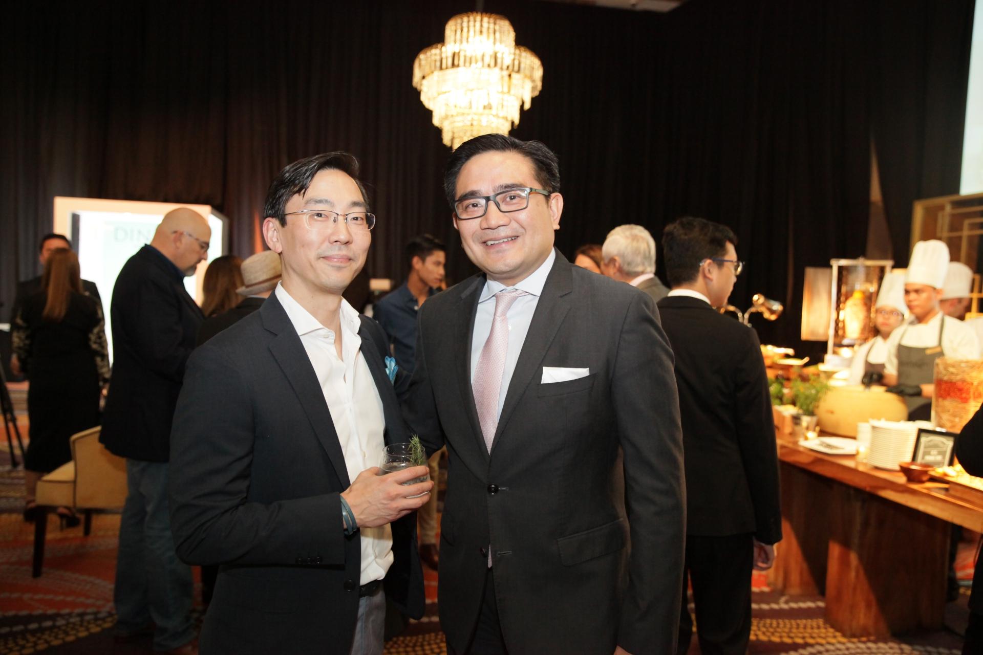 Mark Choon and Eugene Tamesis