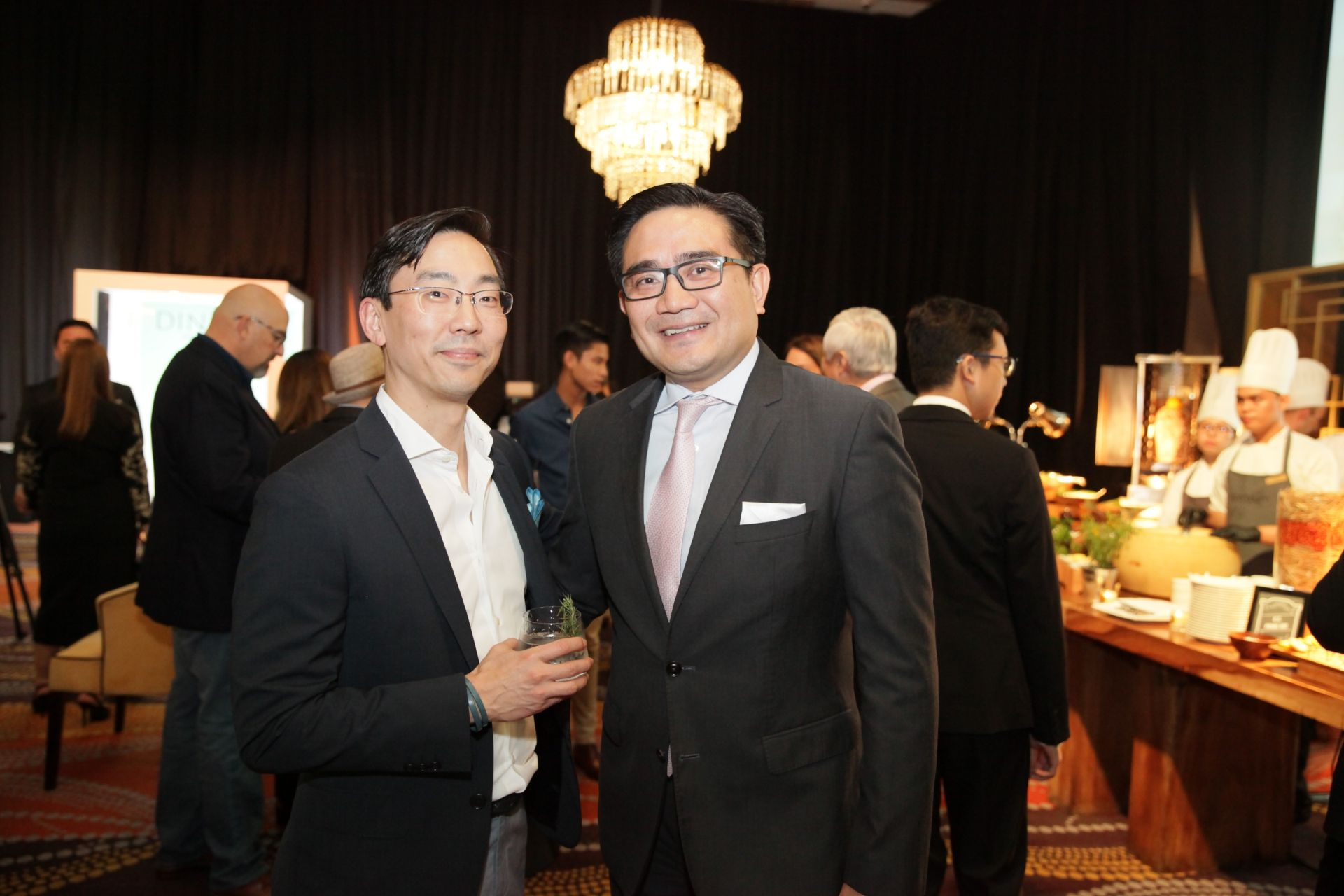 Mark Choon and Eugene Tamesis