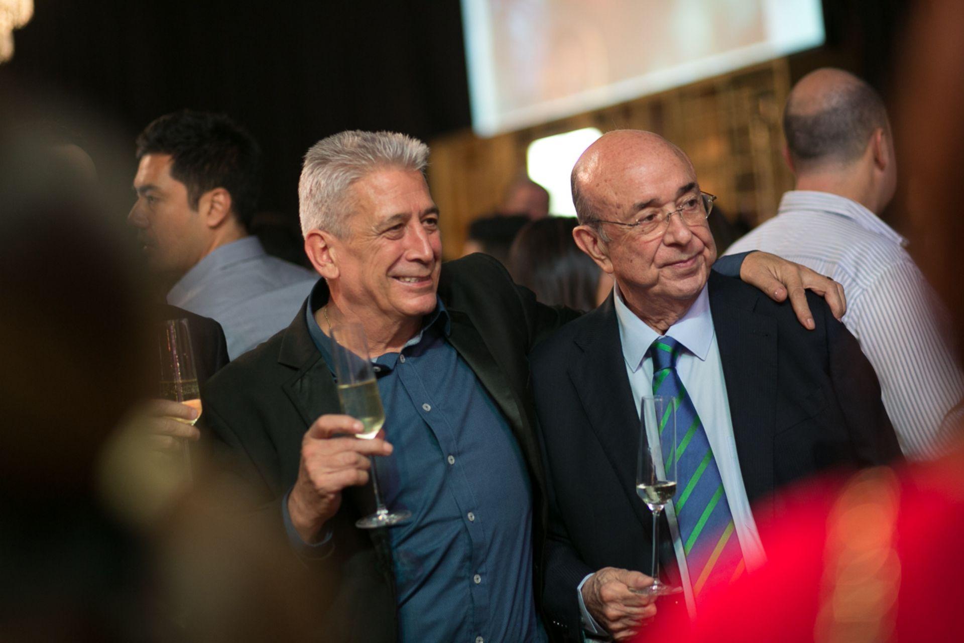 Pablo Lopez Iglesias and Juan Carlos de Terry