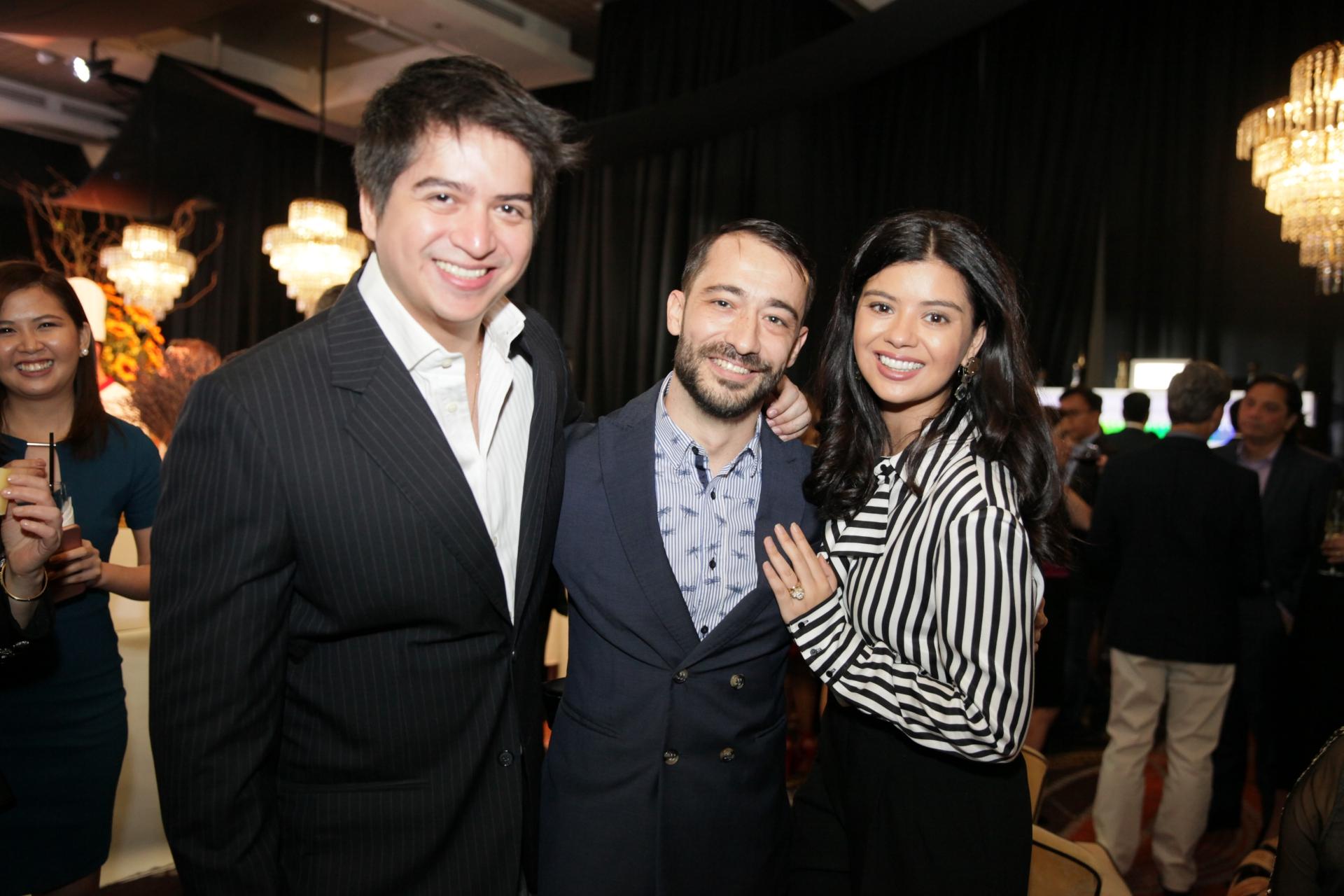 Raul Olbes, Dani Aliaga and Rocio Olbes-Ressano