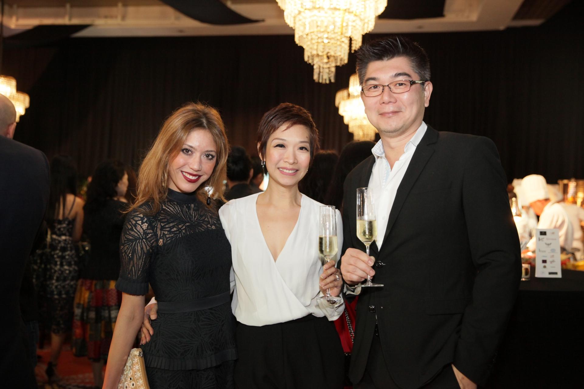 Shauna Jay Popple Williams and Charmaine and Eric Wang