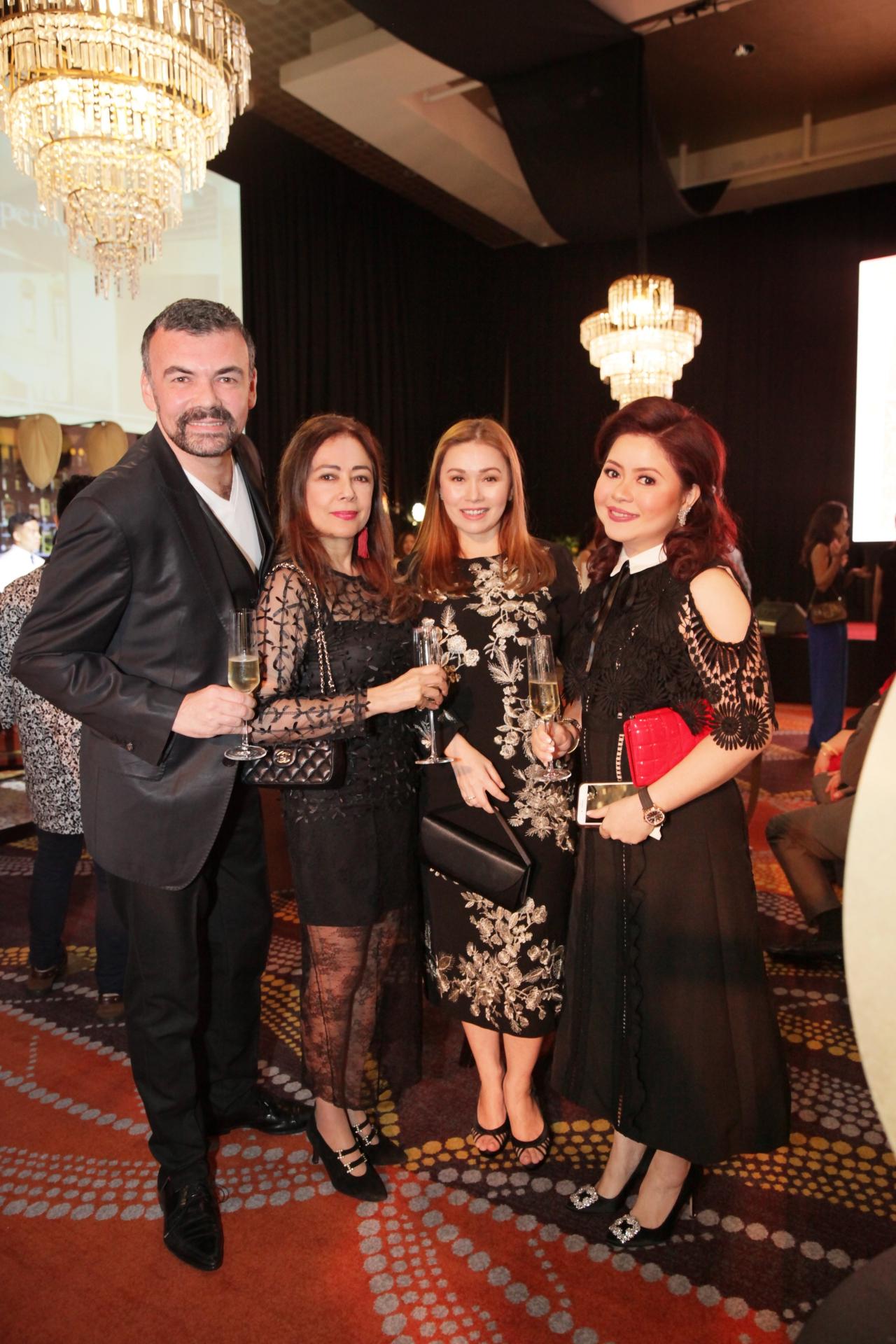 Xavier Bitesh, Mayenne Carmona, Monique Toda and Carla del Prado