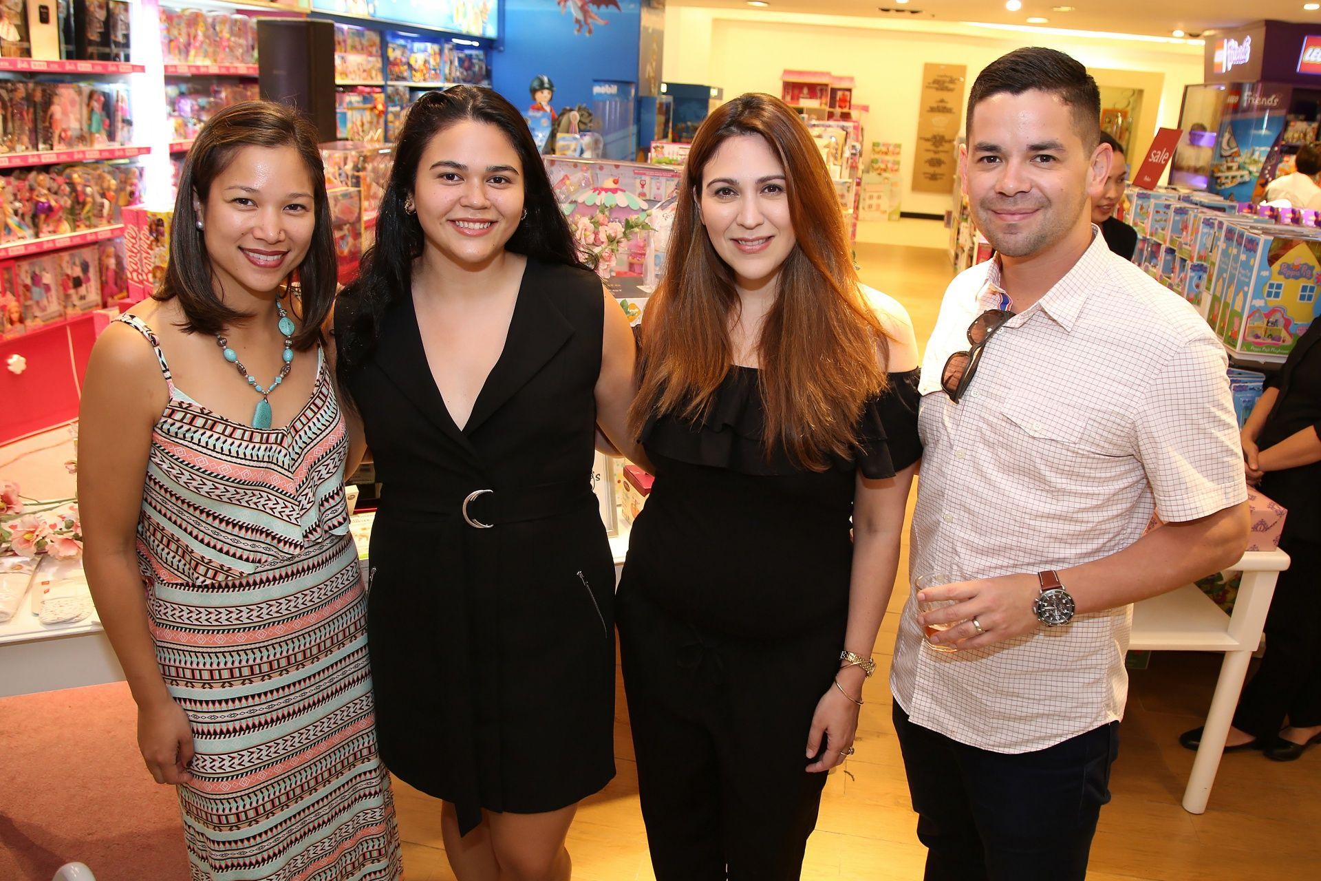 Isabel Chongbian Heredia, Ines Barretto, Amaya Barretto, Charley Heredia