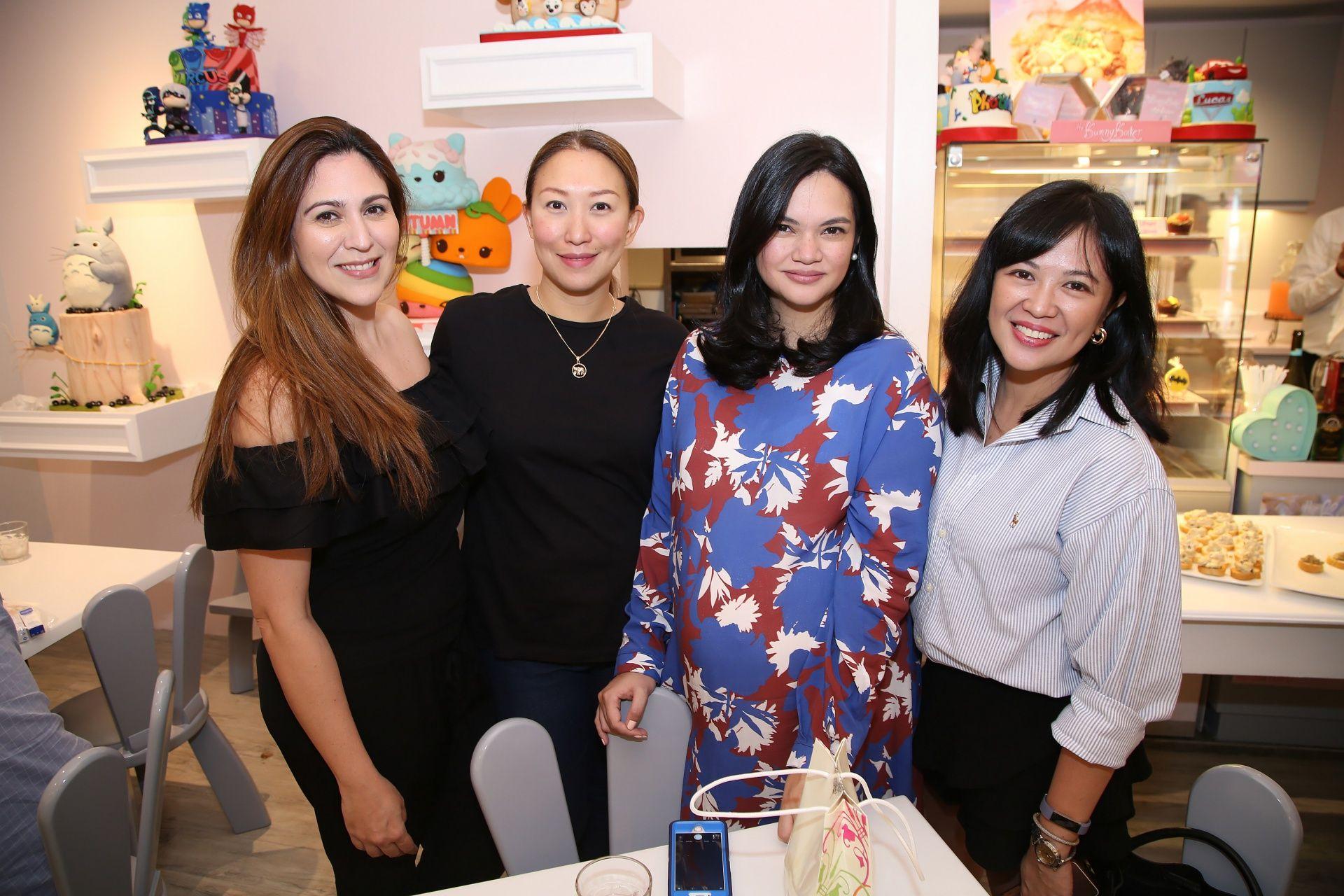 Amaya Barretto, Lisa Capito, Sophie Villanueva Solon, Angela Dinglasan