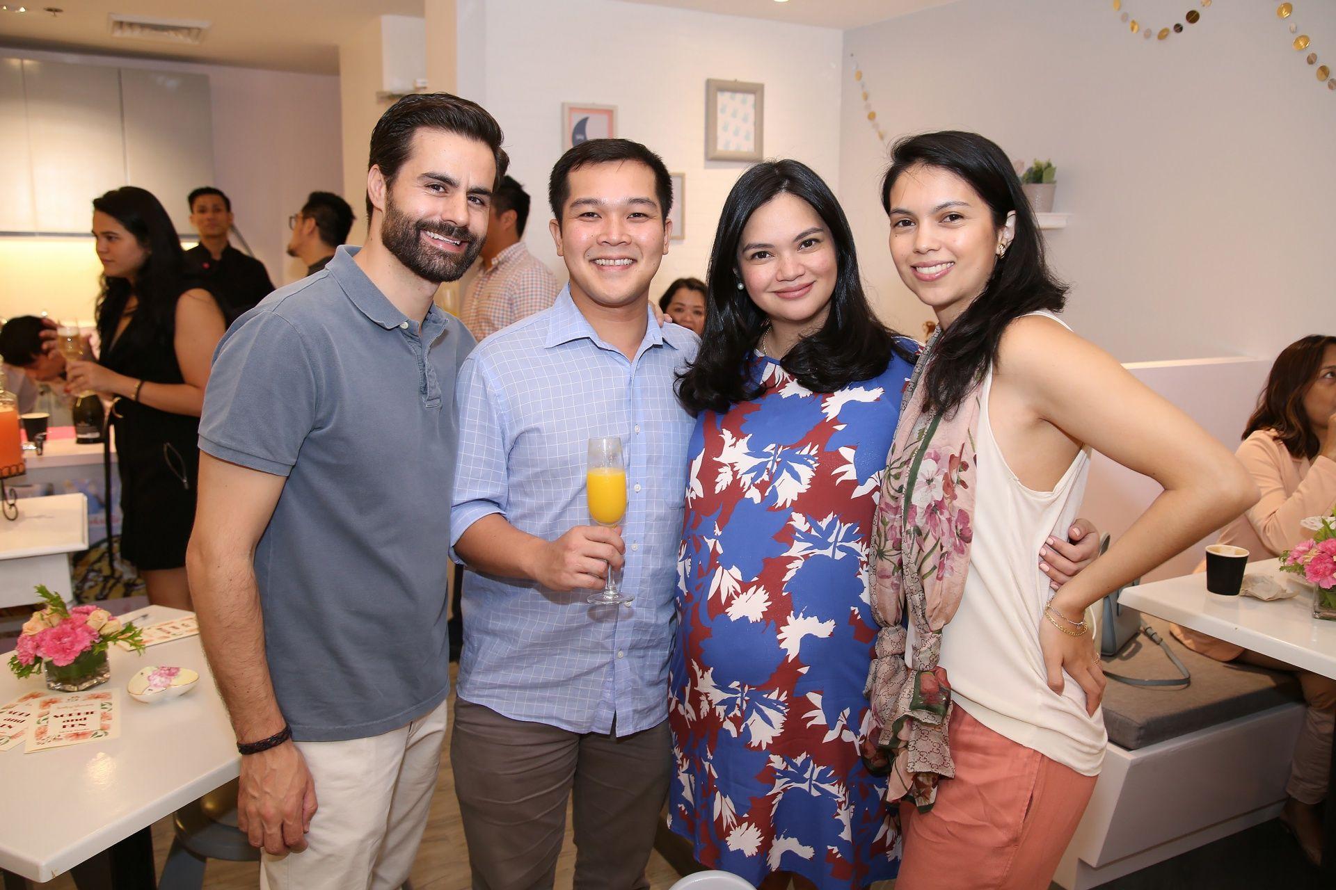 Isra Albert, Ken Solon, Sophie Villanueva Solon, Monica Villanueva Albert