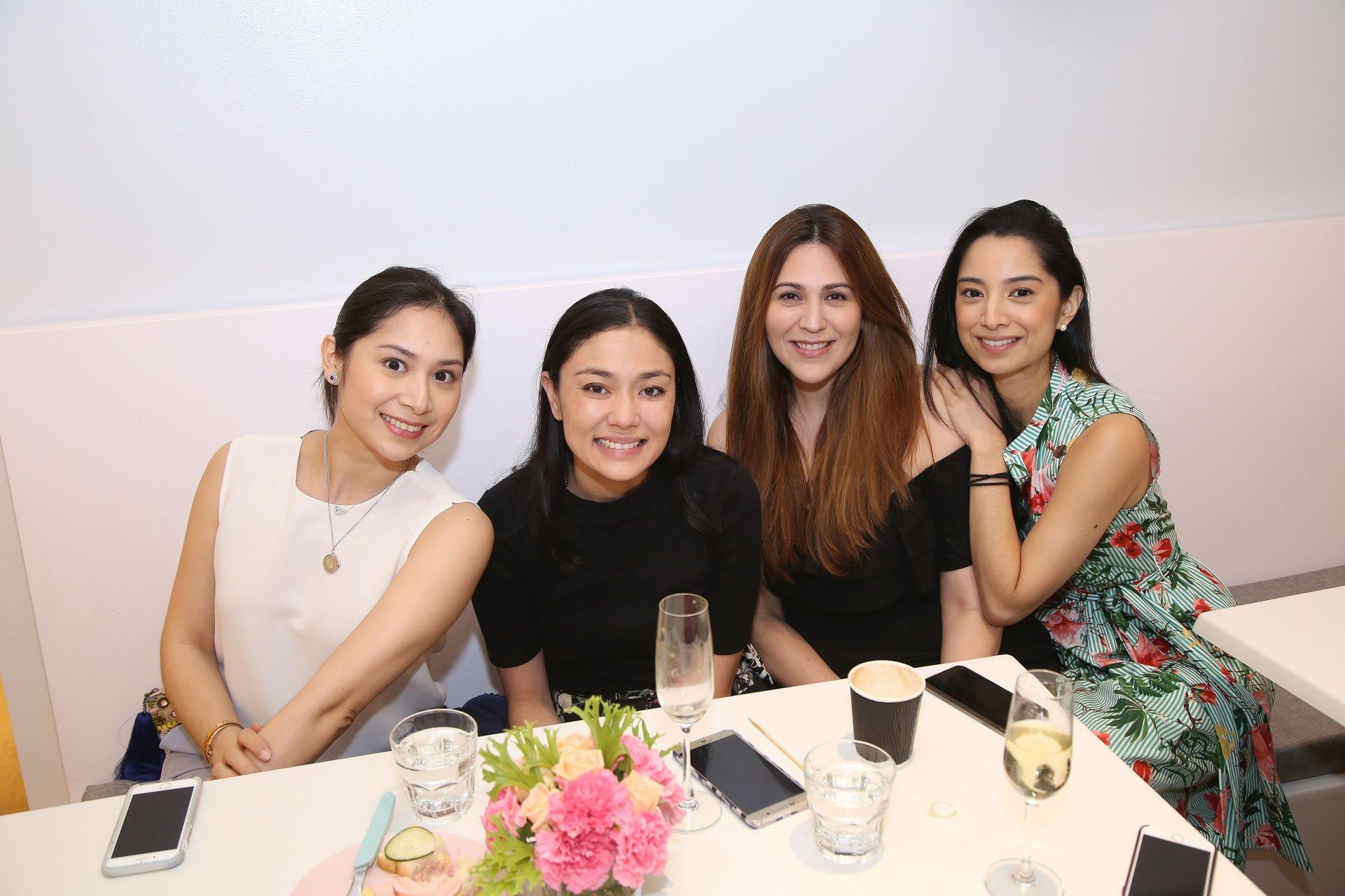 Cristina Villanueva Martel, Dina Tantoco, Amaya Barretto, Marga Villanueva Albert
