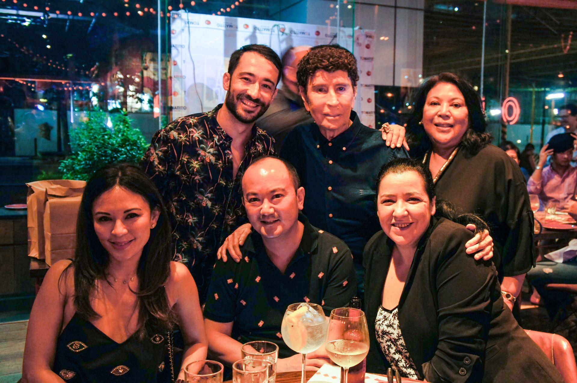 Wendy Puyat, Dani Aliaga, Pepper Teehankee, Maurice Arcache