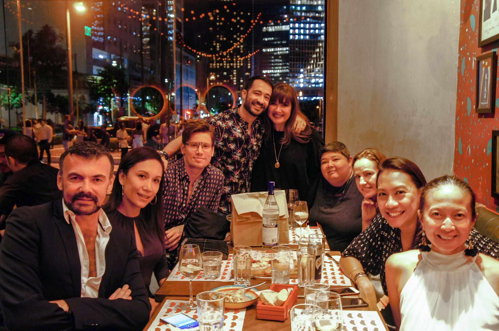 Xavier Bitesh, Christine San Diego, Kevin Kramer, Dani Aliaga, Cheska Winebrenner, Djila Winebrenner, Susi Occhionero, Joy Natividad, Louise Lee