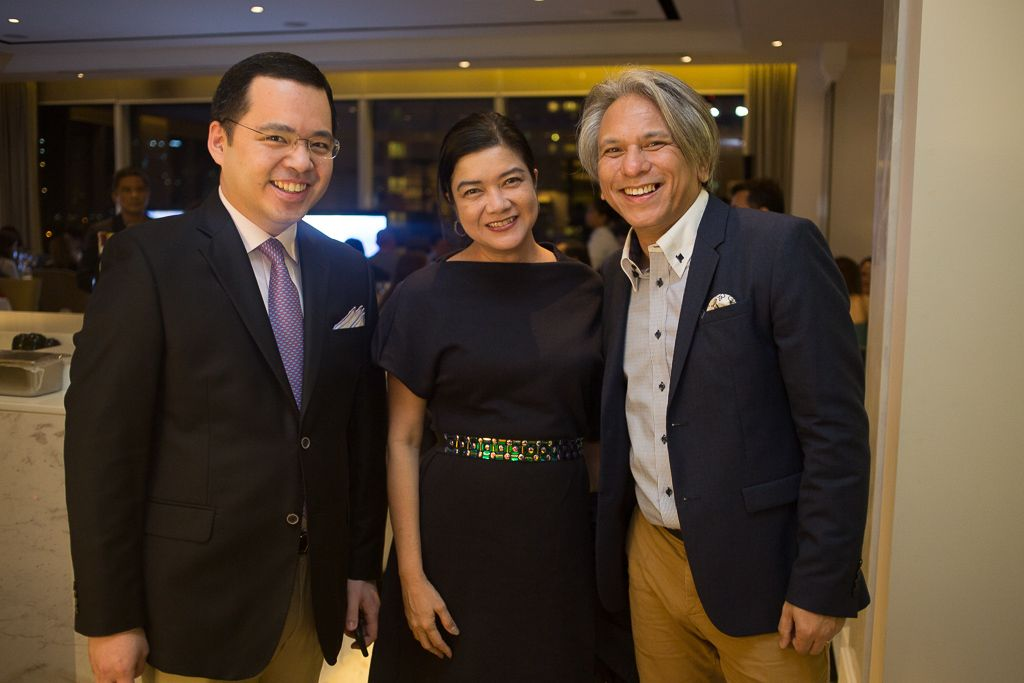 Paolo Martel, Myla Villanueva, and Elbert Cuenca