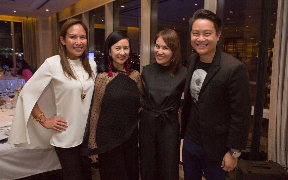 Dr. Christine Santos-Francisco, Mia Borromeo, Aivee and Z Teo