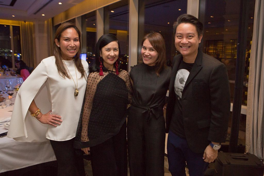 Dr. Christine Santos-Francisco, Mia Borromeo, Aivee and Z Teo